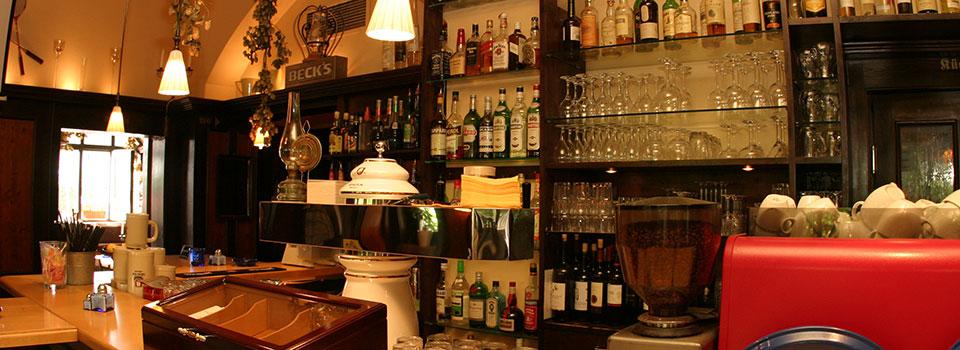 Bar im Schankraum
